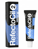 Vopsea sprancene si gene Refectocil 2 Blue Black