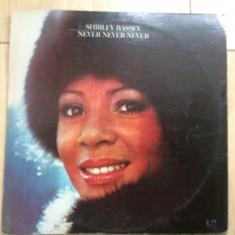 Shirley Bassey Never Never Never disc vinyl lp muzica pop United Artists 1973