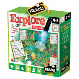 Joc puzzle - Explorati padurea