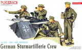 + Macheta 1/35 Dragon 6029 - German Sturmartillerie Crew +