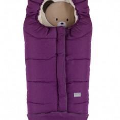 Nuvita Junior Cuccioli sac de iarna 100 cm Bear Melange Lilac Beige 9605