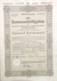 1000 Reichsmark titlu de stat Germania 1944
