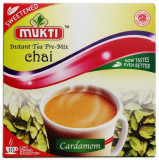 Mukti Instant Tea Cardamom Sweetened (Ceai Cardamom Instant Indulcit - 10...