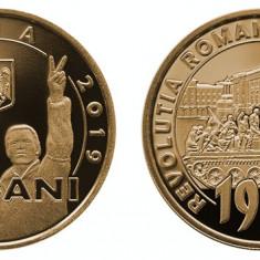 50 bani PROOF 2019 30 de ani de la revolutie