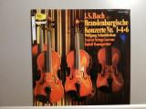 Bach – Brandenburg Concerto no 1,4,6 (1960/Polydor/RFG) - Vinil/Vinyl/ca Nou, decca classics