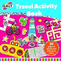 Carte de activitati Travel, 30 pagini, abtibilduri, 3 ani+