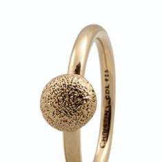 Inel Shine, Argint 925 placat cu aur galben 18K, Masura 55