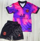 Compleu Echipament fotbal pentru copii PSG MBAPPE noul model 2021-2022, YXS, Tricou + Pantalon