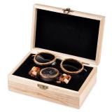 Cumpara ieftin Set ceas din lemn Bobo Bird P14 si ochelari de soare din lemn