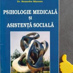 Psihologie medicala si asistenta sociala Ruxandra Rascanu