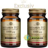 Vitamina B12 1000mcg 100tb (Cobalamina) Pachet 1+1