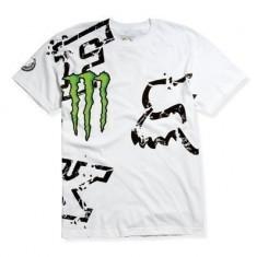 Tricou Fox Monster RC culoare alb marime L Cod Produs: MX_NEW 47060008005AU