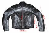 Costum moto piele MQP Dynamic Cruiser barbati marimea 54(XL), Combinezoane