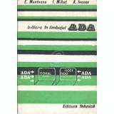 Initiere in limbajul ADA