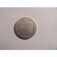 CY - Leu 1885 Romania Carol I / rara