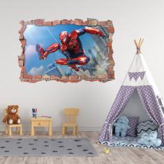 Sticker 3D perete, 60x90cm, Spiderman