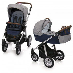 Baby Design Dotty 03 Navy 2018 - Carucior 2 in 1