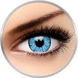 Cumpara ieftin Crazy Blizzard - lentile de contact colorate albastre anuale - 360 purtari (2 lentile/cutie)