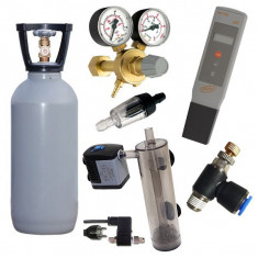 Set CO2 AAA 2 kg + pH metru GRATUIT