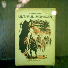 Ultimul mohican, J. Fenimore Cooper
