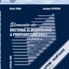 Elemente de doctrina si deontologie a profesiei contabile