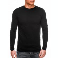 Bluza barbati simpla bumbac L118-negru