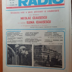 revista tele-radio saptamana 5-11 decembrie 1982