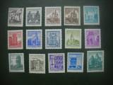 HOPCT TIMBRE MNH 861 SET 15  VAL UZUALE AUSTRIA-DIFERITI ANI