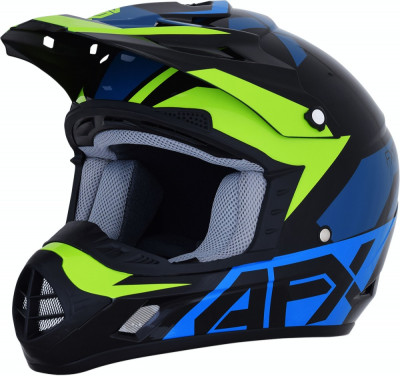 Casca Cross/ATV AFX FX-17 Albastru- Verde XL Cod Produs: MX_NEW 01106502PE foto