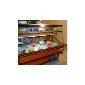 Vitrina frigorifica orizontala mezeluri, carne sau cofetarie