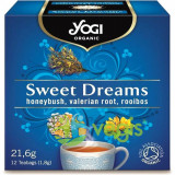 Ceai Sweet Dreams cu Rooibos, Valeriana si Miere Ecologic/Bio 12dz