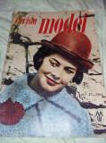 Revista veche moda,revista,,REVISTA MODEI 1963,,Desing vesimentar,T.GRATUIT