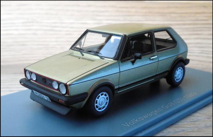 Macheta Volkswagen Golf GTI (1983) 1:43 NEO