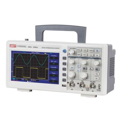 Osciloscop UT2025C, 2 canale, USB, functie recall, polaritate normal/reverse foto