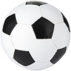 Minge de fotbal, marime 5, Everestus, CE02, pvc, alb, negru, desfacator de sticle inclus