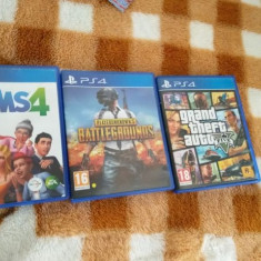 Vând ps4 slim cu 7 jocuri incluse