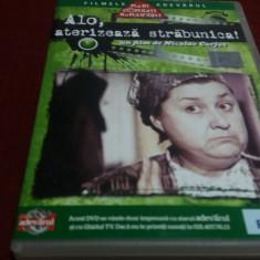 DVD ALO ATERIZEAZA STRABUNICA, Romana