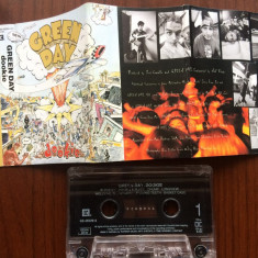 Green day dookie caseta audio muzica punk pop rock reprise records germany 1994, Casete audio