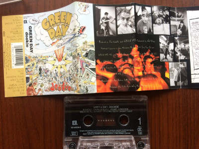 green day dookie caseta audio muzica punk pop rock reprise records germany 1994 foto
