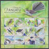 DB1 Fauna Vanuatu Pasari MS  2012   MNH, Nestampilat