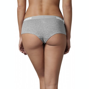 Ladies Logo Panty Double-Pack Urban Classics S EU