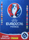 Panini Euro 2016 update set 84 stickere