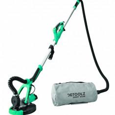 DZ-C200 Slefuitor girafa DETOOLZ 750W, 215MM pentru pereti, cu aspirator si...