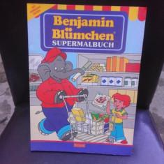 BENJAMIN BLUMCHEN, SUPERMALBUCH, CARTE DE COLORAT