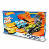 Circuit electric cu 2 masinute Hot Wheels, 1:43, 632 cm
