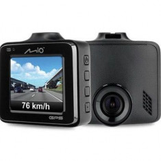 Camera auto Mio MiVue C335, Full HD, GPS, Ecran 2inch, Senzor G (Negru)