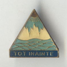 Insigna PIONIERI  - Tot Inainte - Litoral - varianta email la rece