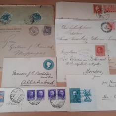 Lot 8 scrisori vechi si fragmente