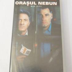 Caseta video VHS originala film tradus Ro - Orasul Nebun