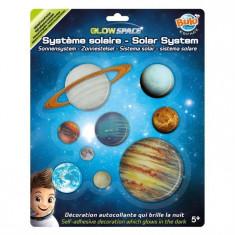 Decoratiuni De Perete Fosforescente - Sistemul Solar